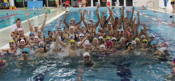 Giornata di festa per lo Swim Team Lugo con Martina Carraro