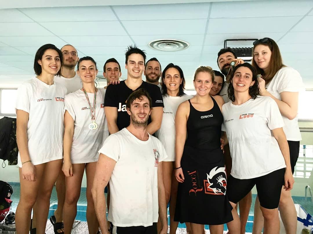 Ancora una grande prestazione dei master swim team lugo for Libertas nuoto lugo